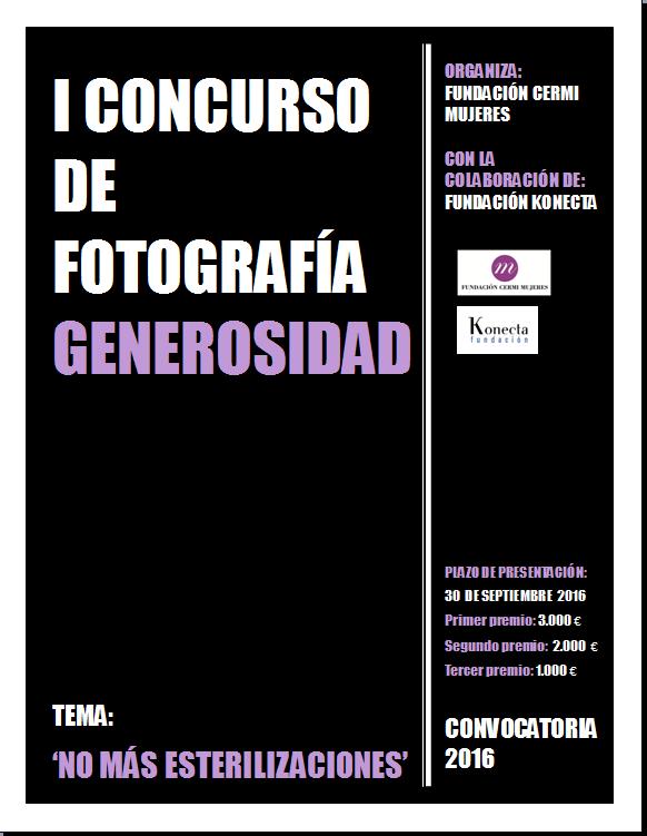 Imagen cartel concurso fotografía